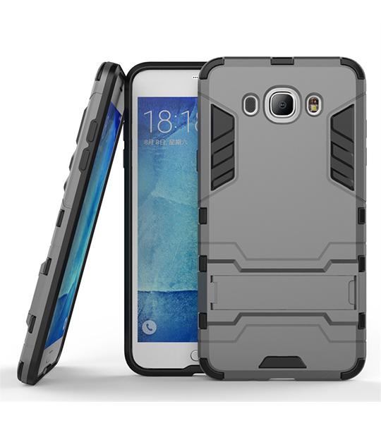 Ударопрочный чехол-подставка Transformer для Samsung J710F Galaxy J7 (2016) с мощной защитой корпуса