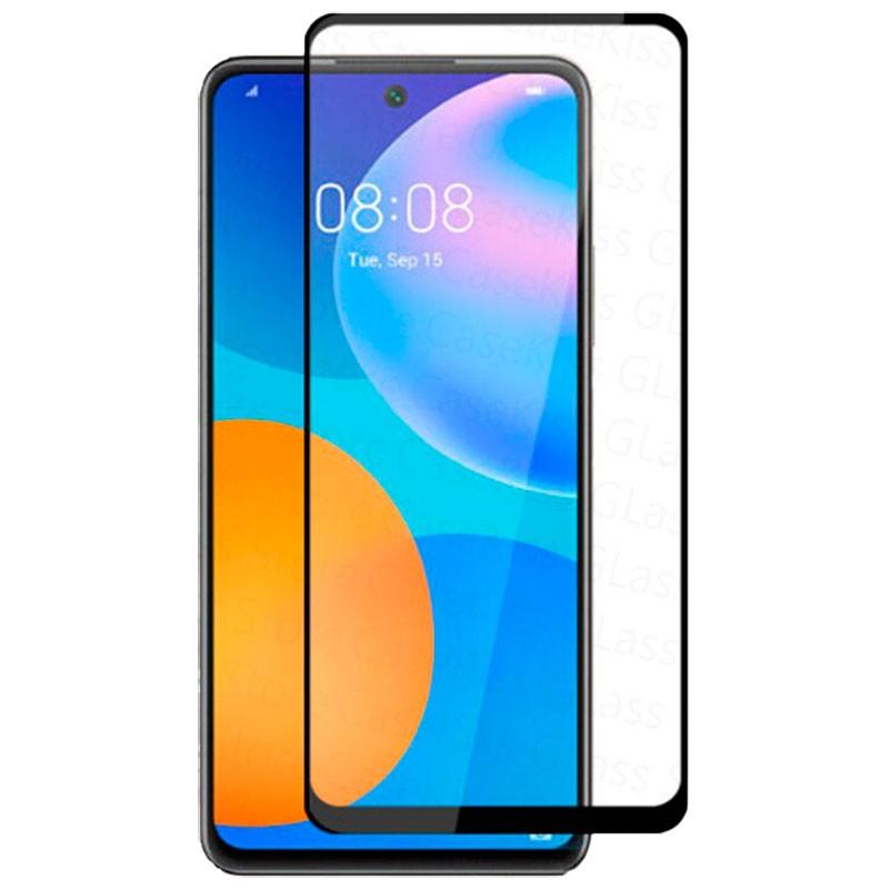 Защитное стекло XD+ (full glue) (тех.пак) для Huawei P Smart (2021)