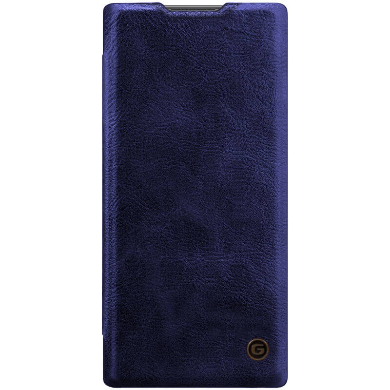 Кожаный чехол книжка G-Case Vintage Business Series для Samsung Galaxy Note 10 Plus
