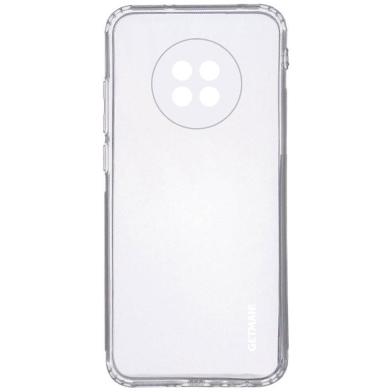 TPU чехол GETMAN Clear 1,0 mm для Xiaomi Redmi Note 9 5G / Note 9T