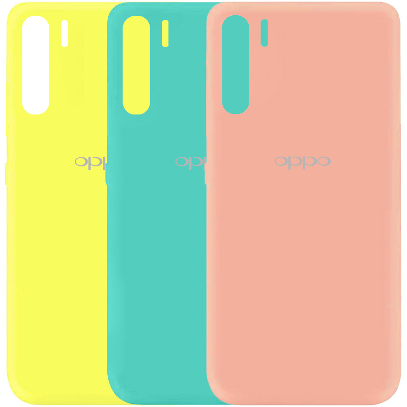 Чехол Silicone Cover My Color Full Protective (A) для Oppo A91