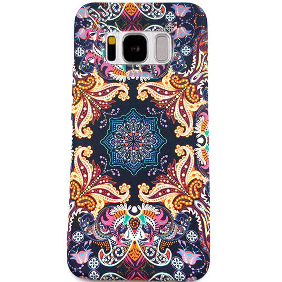 TPU чехол Акварель Flower series для Samsung G955 Galaxy S8 Plus