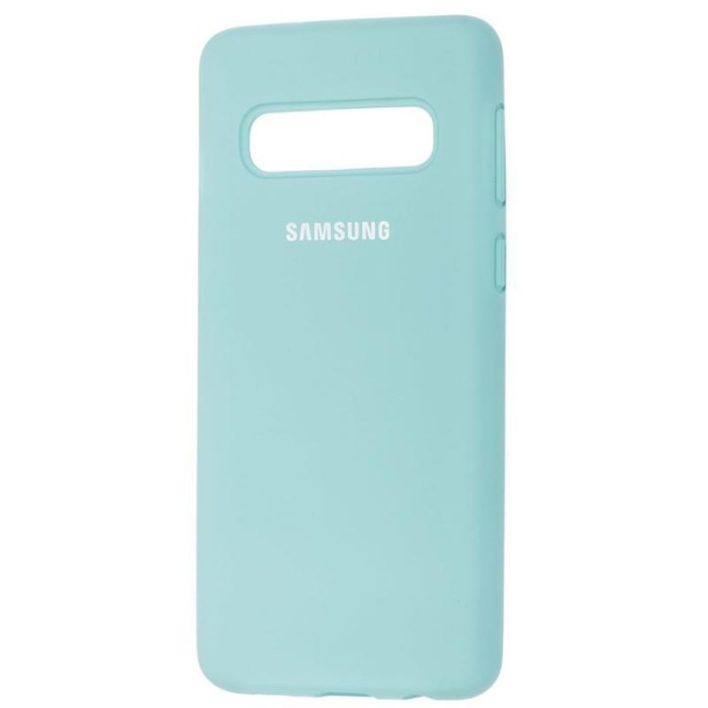 Чехол Silicone Case Full Protective для Samsung Galaxy S10+