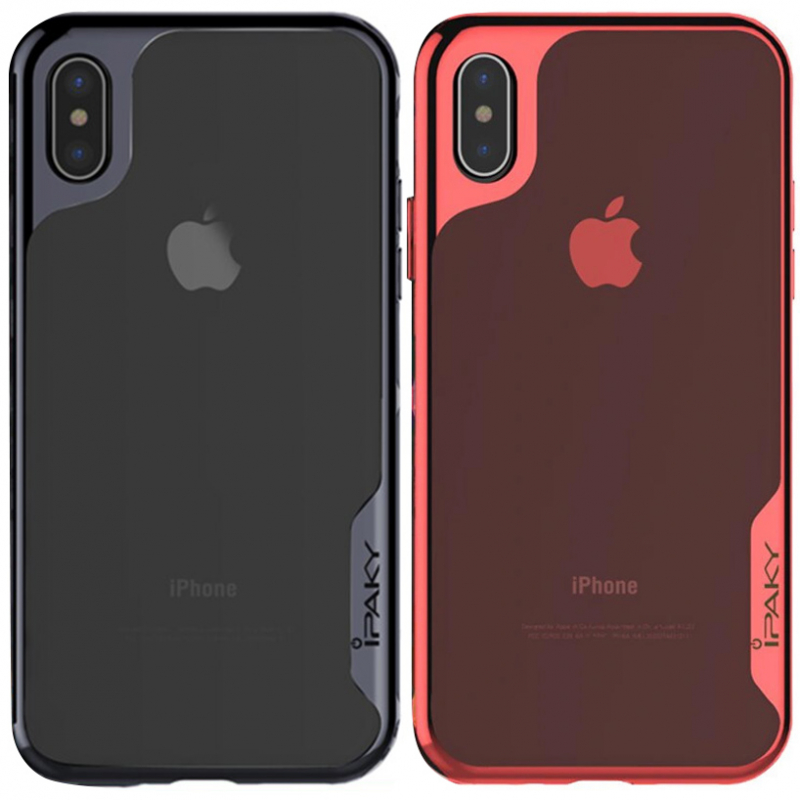 "Чехол iPaky TPU+PC Plum Series для Apple iPhone X (5.8"")"