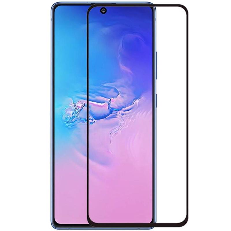 Защитное цветное стекло Mocoson 5D (full glue) для Samsung Galaxy S10 Lite