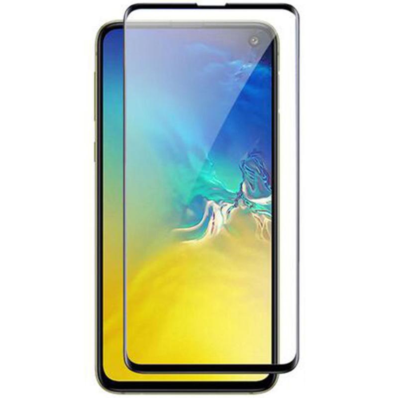 Защитное цветное стекло Mocoson 5D (full glue) для Samsung Galaxy S10e