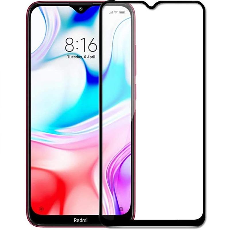 Защитное цветное стекло Mocoson 5D (full glue) для Xiaomi Redmi 8 / 8a