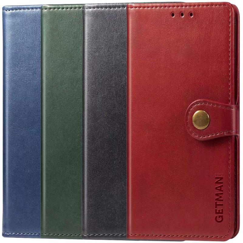 Кожаный чехол книжка GETMAN Gallant (PU) для Xiaomi Mi Note 10 / Note 10 Pro / Mi CC9 Pro