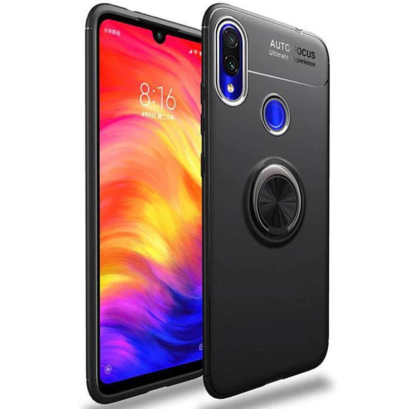 TPU чехол Deen ColorRing под магнитный держатель (opp) для Samsung Galaxy A40 (A405F)