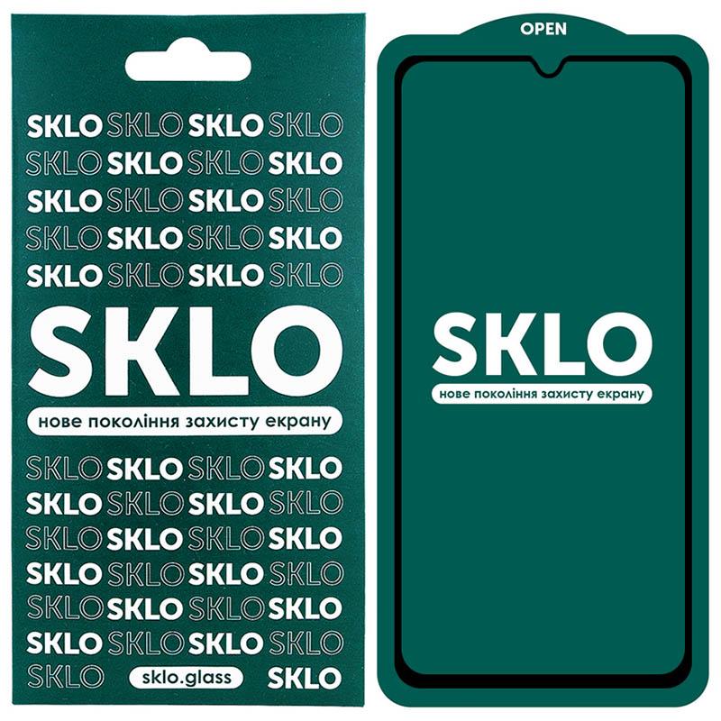 Защитное стекло SKLO 5D (full glue) для Huawei Y6p