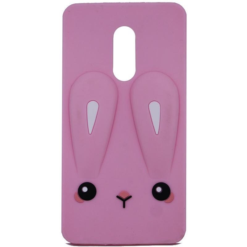 Силиконовая накладка 3D Child Bunny для Xiaomi Redmi 5 Plus / Redmi Note 5 (Single Camera)