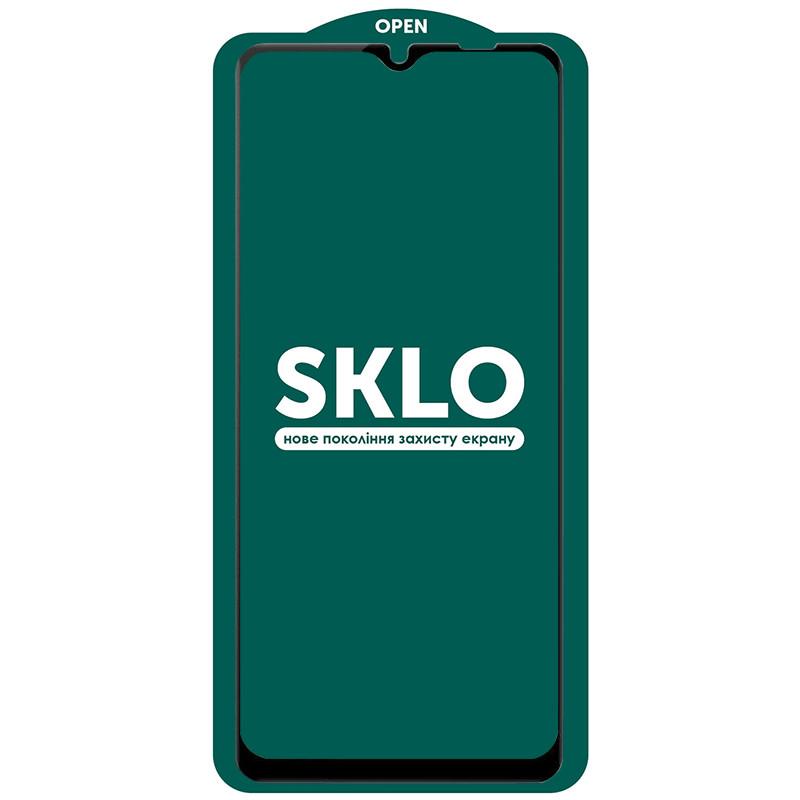 Защитное стекло SKLO 5D (full glue) (тех.пак) для Samsung Galaxy A12 / M12 / A02s / M02s / A02 / M02