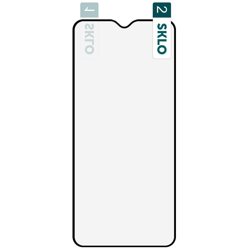 Гибкое защитное стекло SKLO Nano (тех.пак) для Xiaomi Mi 10 Lite