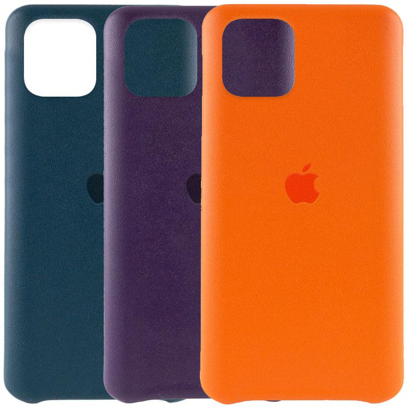 "Кожаный чехол AHIMSA PU Leather Case Logo (A) для Apple iPhone 12 Pro Max (6.7"")"