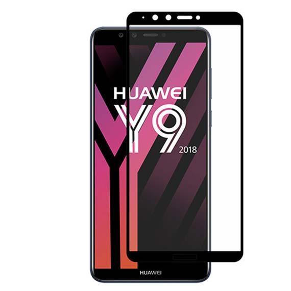 Защитное стекло 2.5D CP+ (full glue) для Huawei Y9 (2018) / Enjoy 8 Plus