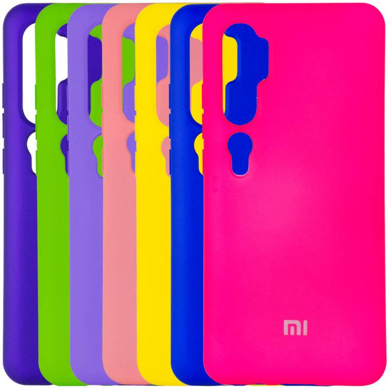 Чехол Silicone Cover Full Protective (A) для Xiaomi Mi Note 10 / MI Note 10 Pro / CC9 Pro