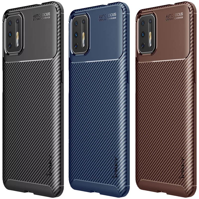 TPU чехол iPaky Kaisy Series для Motorola Moto G9 Plus