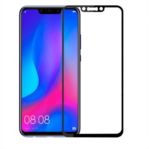 Защитное цветное стекло Mocolo (full glue) на весь экран для Huawei P Smart+ (nova 3i)