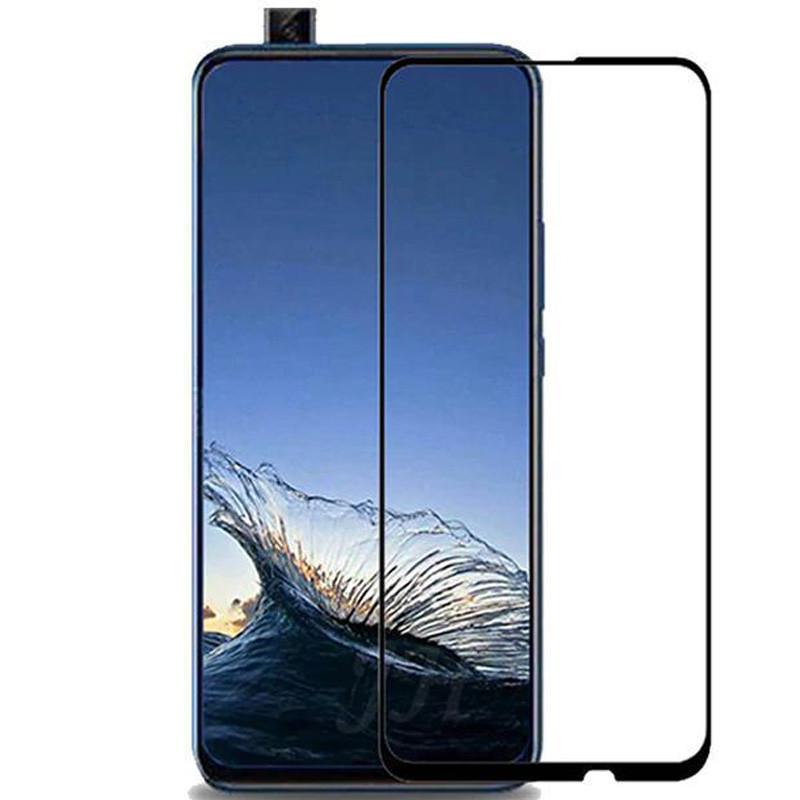 Защитное цветное стекло Mocolo (full glue) на весь экран для Huawei P Smart Z
