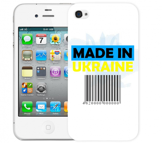Чехол «Made in Ukraine» для Apple iPhone 4/4s