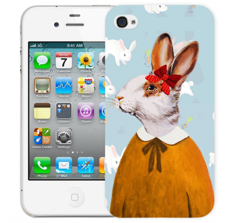 Чехол «Lady Bunny» для Apple iPhone 4/4s