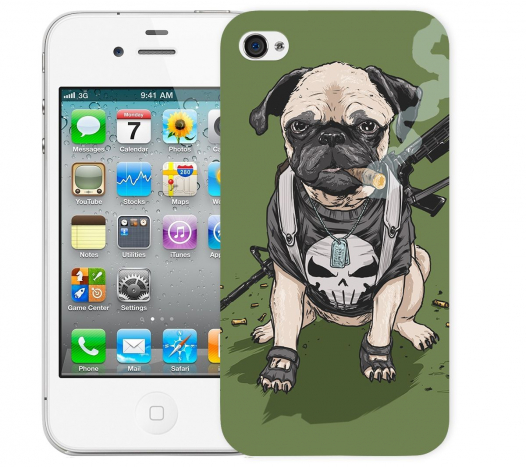 Чехол «Dog» для Apple iPhone 4/4s