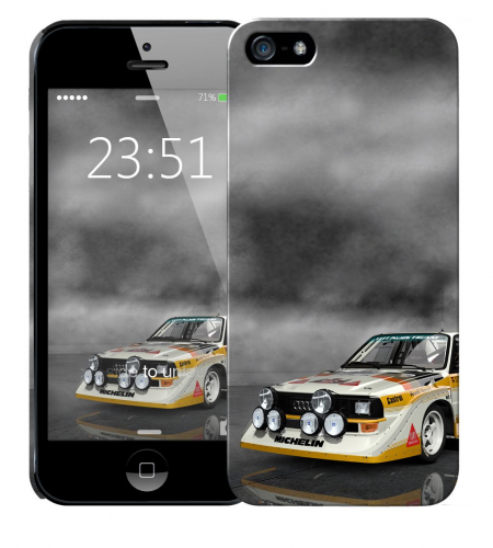 Чехол «Audi» для Apple iPhone 5/5s