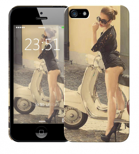 Чехол «vespa» для Apple iPhone 5/5s