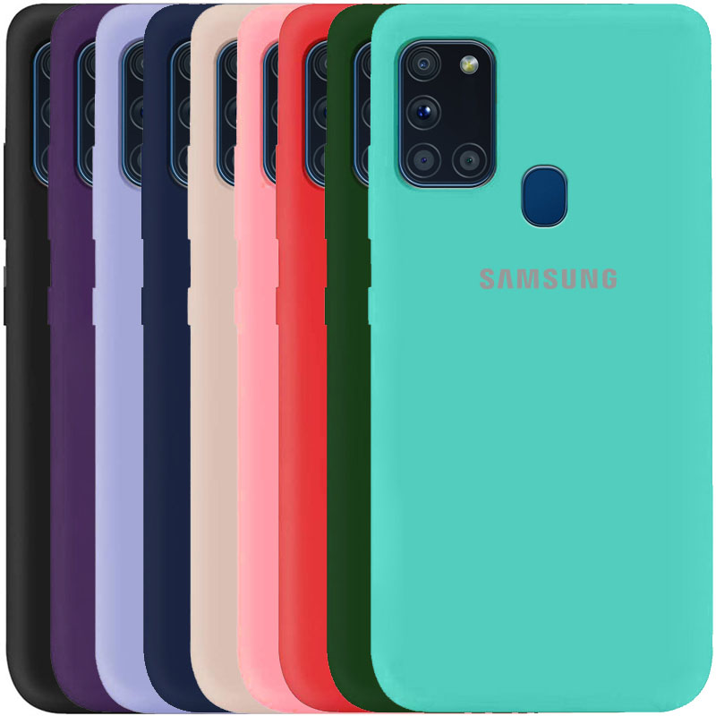 Чехол Silicone Cover My Color Full Protective (A) для Samsung Galaxy A21s