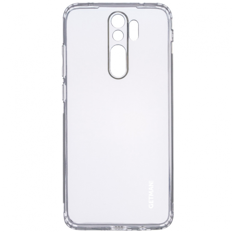 TPU чехол GETMAN Clear 1,0 mm для Xiaomi Redmi 9
