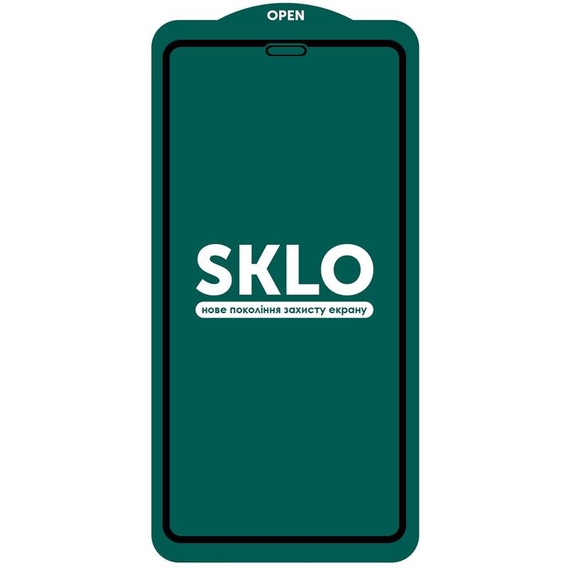 """Защитное стекло SKLO 5D (full glue) (тех.пак) для Apple iPhone 11 (6.1"""") / XR"""