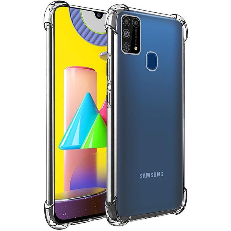 TPU чехол GETMAN Ease с усиленными углами для Samsung Galaxy M31