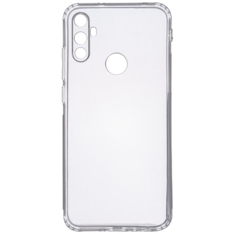 TPU чехол GETMAN Transparent 1,0 mm для Realme C3