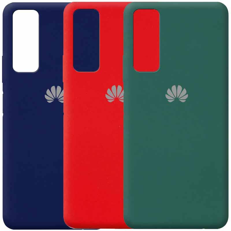 Чехол Silicone Cover Full Protective (AA) для Huawei P Smart (2021)