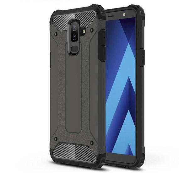 Бронированный противоударный TPU+PC чехол Immortal для Samsung Galaxy A6 Plus (2018)