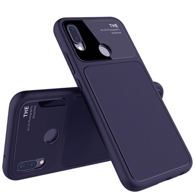 TPU чехол Glossy Half для Huawei P20 Lite