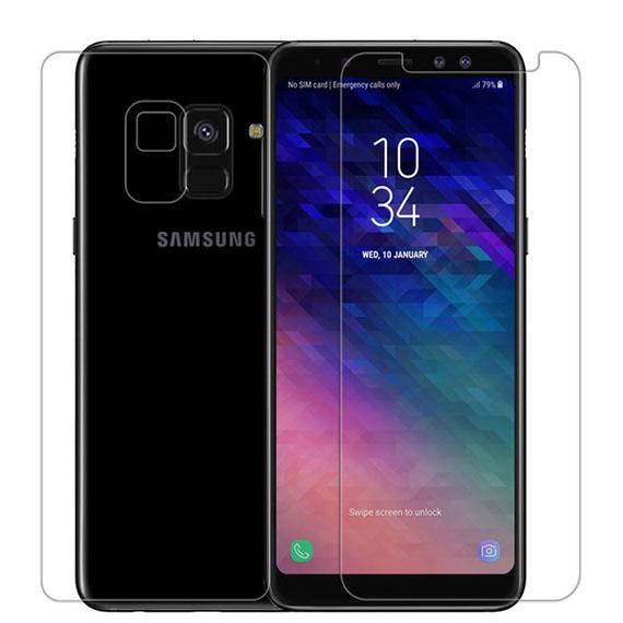 Защитная пленка Nillkin Crystal (+ пленка на зад. камеру) для Samsung Galaxy A6 (2018)