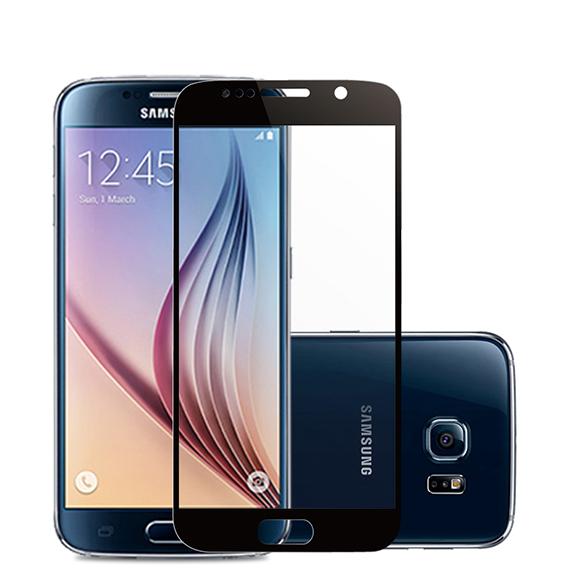 Защитное цветное стекло Mocolo (CP+) на весь экран для Samsung A720 Galaxy A7 (2017)