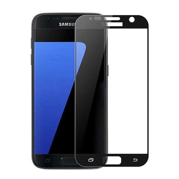 Защитное цветное 3D стекло Mocolo для Samsung G930F Galaxy S7
