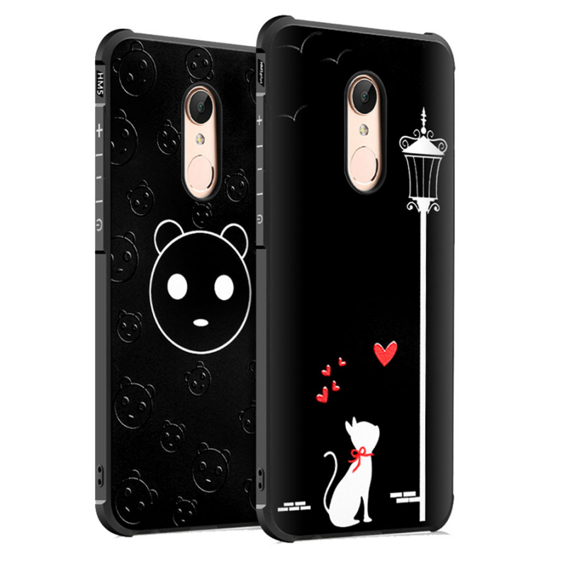 Противоударный TPU чехол Sweet Art для Xiaomi Redmi 5 Plus / Redmi Note 5 (SC)