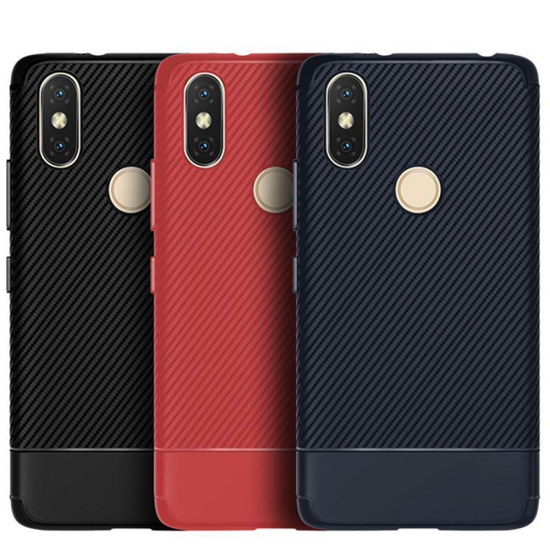 TPU чехол Carbon для Xiaomi Redmi S2
