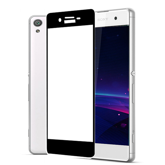 Защитное цветное 3D стекло Mocolo для Sony Xperia XA1 Plus / XA1 Plus Dual
