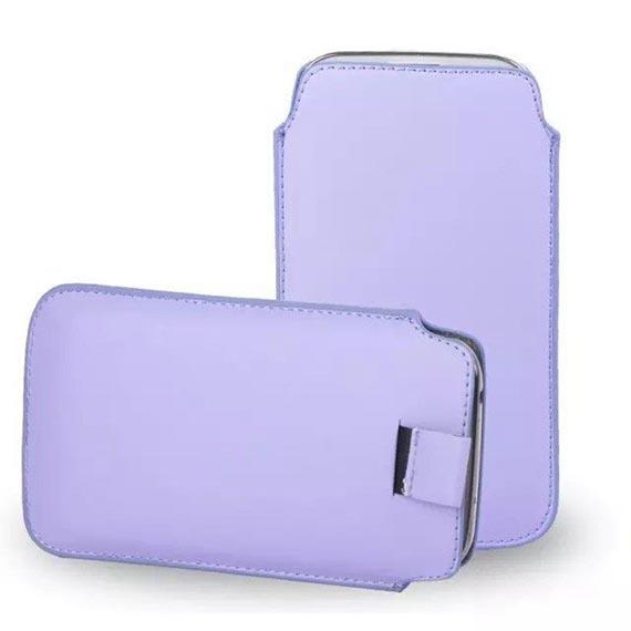 Кожаный чехол (футляр) для смартфона (140 x 75)