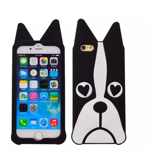 """Силиконовая накладка 3D Marc Jacobs для Apple iPhone 6/6s (4.7"""")"""
