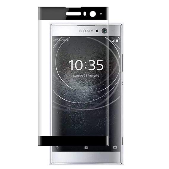 Защитное цветное 3D стекло Mocolo для Sony Xperia XA2