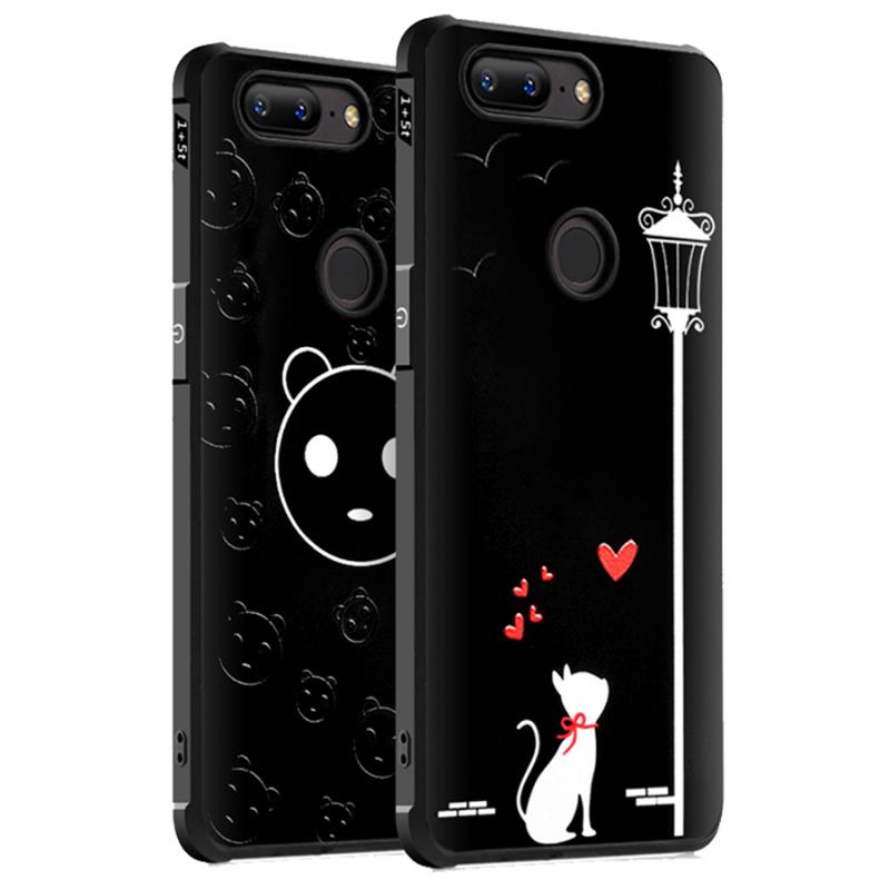 Противоударный TPU чехол Sweet Art для OnePlus 5T