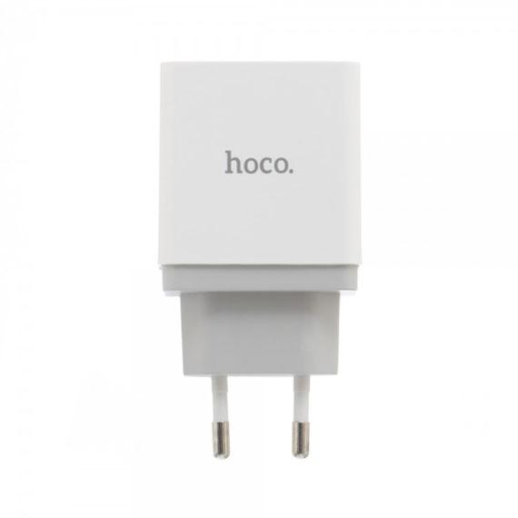 Сетевое ЗУ Hoco C24 Bele QC3.0 1USB 5V-12V 3A