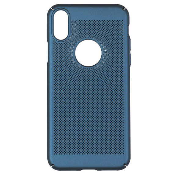 Ультратонкий дышащий чехол Grid case для Huawei P30 lite