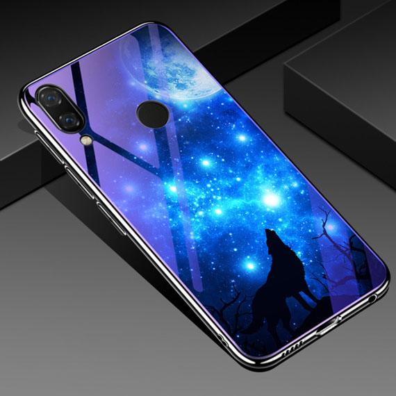 TPU+Glass чехол Fantasy с глянцевыми торцами для Huawei P Smart+ (nova 3i)