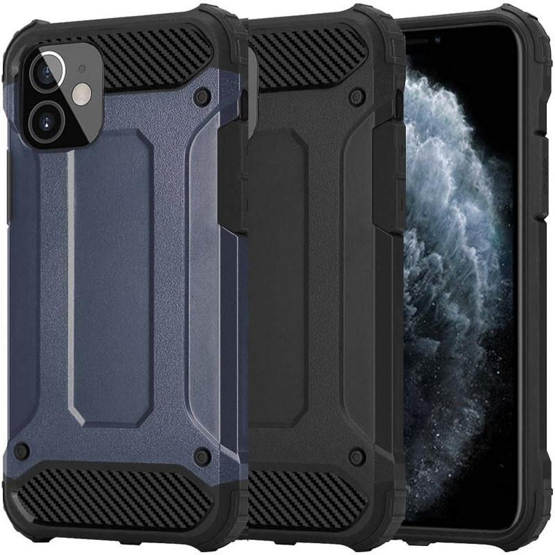 "Бронированный противоударный TPU+PC чехол Immortal для Apple iPhone 12 mini (5.4"")"
